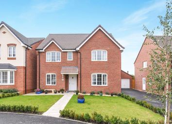 Thumbnail 4 bed detached house for sale in Egremont Close, Evesham, Worcestershire