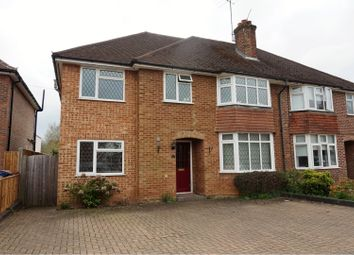Thumbnail 4 bed semi-detached house for sale in Park Road, Godalming