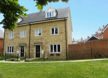 Thumbnail 4 bed semi-detached house for sale in Chamberlain Way, Shortstown, Bedford