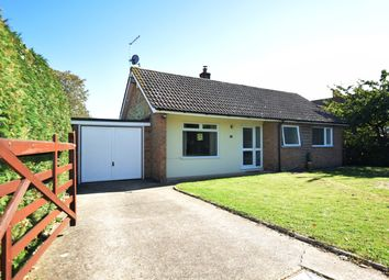 Thumbnail 2 bed detached bungalow for sale in Post Mill Gardens, Grundisburgh, Woodbridge