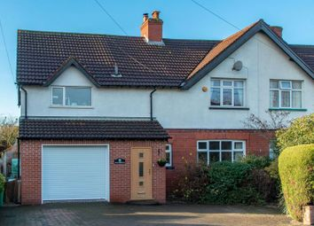 Thumbnail 4 bed semi-detached house for sale in Seamons Road, Dunham Massey, Altrincham