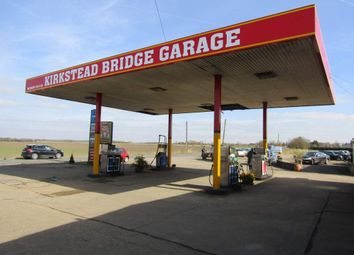Thumbnail Retail premises for sale in Kirkstead Bridge Service Station, Woodhall Spa