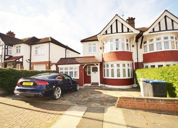 Thumbnail 4 bed semi-detached house to rent in Coniston Gardens, Wembley, Middlesex