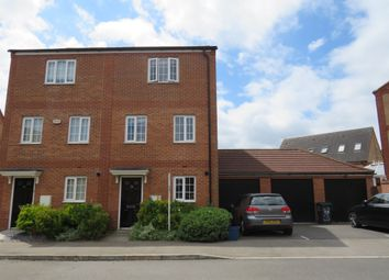 Thumbnail 4 bedroom town house for sale in Turners Gardens, Wootton, Northampton