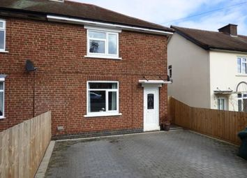 Thumbnail 2 bed semi-detached house for sale in Leedham Avenue, Tamworth, Staffordshire, England