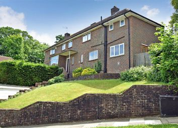 Thumbnail 4 bed semi-detached house for sale in Dene Vale, Brighton, East Sussex