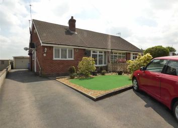 Thumbnail 3 bedroom semi-detached bungalow for sale in Heathcote Rise, Weston Coyney, Stoke-On-Trent