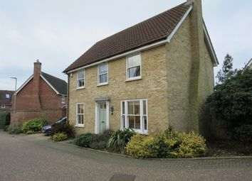 Thumbnail 3 bed detached house for sale in Muir Drive, Hingham, Norwich