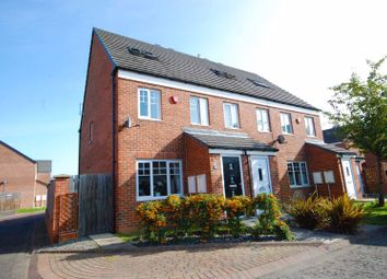 Thumbnail 3 bed town house for sale in Addison View, Blaydon-On-Tyne