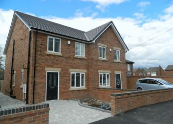 Thumbnail 3 bed semi-detached house to rent in Flixton Road, Flixton, Manchester