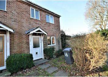 Thumbnail 2 bed end terrace house to rent in Hunters Crescent, Romsey