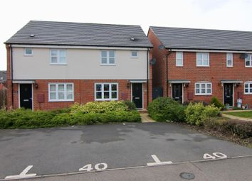 Thumbnail 3 bed semi-detached house for sale in Aspen Road, Rugby
