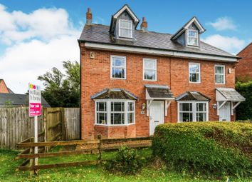 Thumbnail 3 bed semi-detached house for sale in Warren End, Mawsley, Kettering