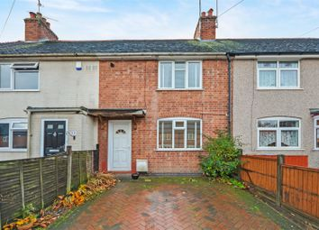 Thumbnail 2 bed terraced house for sale in Seagrave Road, Stoke, Coventry