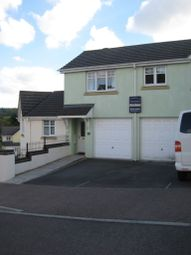 Thumbnail 2 bedroom semi-detached house to rent in Chestnut Crescent, Chudleigh