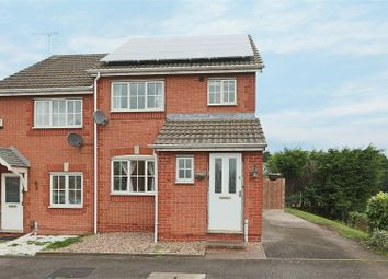 Thumbnail 3 bed semi-detached house for sale in Meadow Brown Road, Bobbersmill, Nottingham