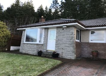 Thumbnail 2 bed detached house to rent in Lochlann Court, Culloden, Inverness