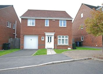 Thumbnail 4 bed detached house to rent in Elvaston Crescent, Kenton, Newcastle Upon Tyne
