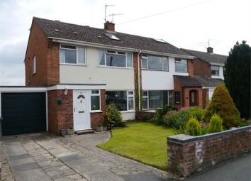 Thumbnail 4 bed semi-detached house to rent in Riverview Close, Worcester