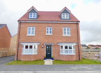 Thumbnail 5 bed detached house for sale in Amos Drive, Pocklington, York