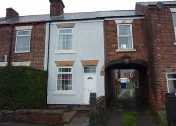 Thumbnail 2 bed property to rent in Chatsworth Road, Brampton, Chesterfield, Derbyshire