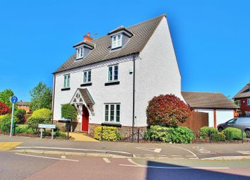 Thumbnail 5 bedroom detached house for sale in Greetham Way, Syston, Leicestershire