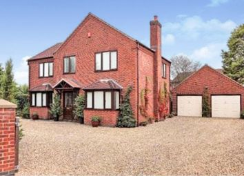 Thumbnail 4 bed detached house for sale in Lincoln Road, Bassingham