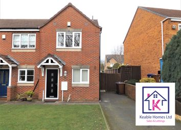 Thumbnail 2 bed semi-detached house to rent in Brisbane Way, Hednesford, Cannock