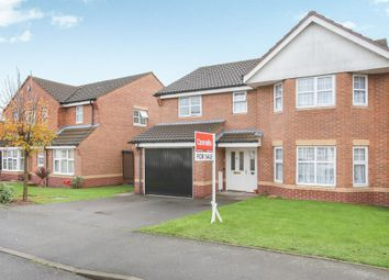 Thumbnail 4 bedroom detached house for sale in Yale Road, Willenhall