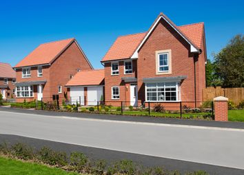 "Thumbnail 4 bed detached house for sale in ""Cambridge"" at Ripon Road, Kirby Hill, Boroughbridge, York"