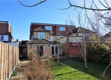 Thumbnail 7 bed semi-detached house for sale in Perne Road, Cambridge