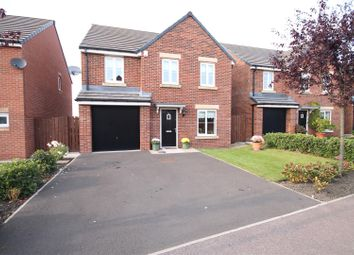 Thumbnail 4 bed detached house for sale in Harle Oval, Bowburn, Durham