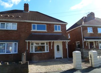 Thumbnail 3 bedroom semi-detached house for sale in Jeffrey Avenue, Parkfields, Wolverhampton