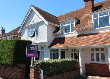 Thumbnail 4 bed semi-detached house for sale in Wellington Road, Poole
