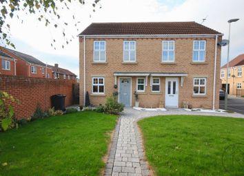 Thumbnail 2 bed semi-detached house to rent in Grangemoor Close, Darlington