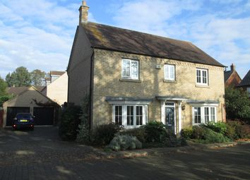 Thumbnail 4 bed detached house for sale in Mayston Close, Potton