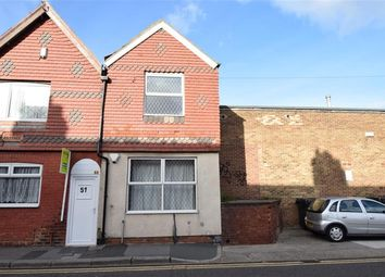 Thumbnail 1 bed semi-detached house for sale in Lord Street, Redcar