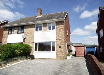 Thumbnail 3 bed semi-detached house for sale in Winnham Drive, Fareham