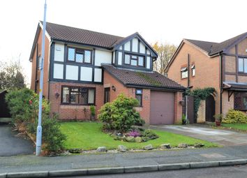 Thumbnail 4 bed detached house for sale in Corner Gate, Westhoughton