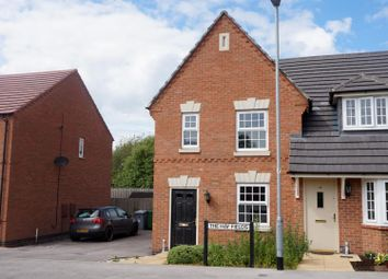 Thumbnail 3 bed semi-detached house to rent in The Hay Fields, Rainworth, Mansfield
