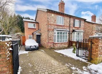 Thumbnail 3 bed semi-detached house for sale in Dean Row Road, Wilmslow