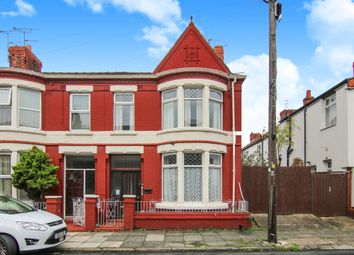 Thumbnail 3 bed end terrace house for sale in Walsingham Road, Wallasey