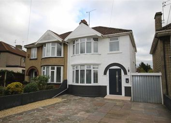 Thumbnail 3 bed semi-detached house for sale in Vicarage Road, Swindon