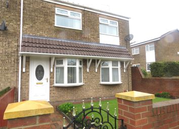 Thumbnail 3 bed end terrace house for sale in Lynmouth Walk, Hartlepool