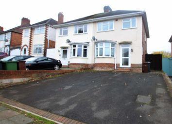 Thumbnail 3 bed semi-detached house for sale in 34 Hollybush Lane, Penn, Wolverhampton 4 Jj