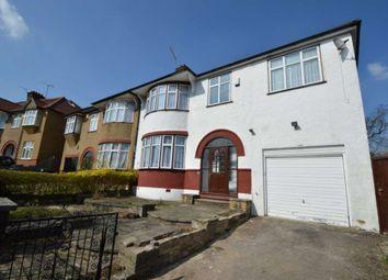 Thumbnail 3 bed semi-detached house to rent in The Ridgeway, Friern Barnet, London