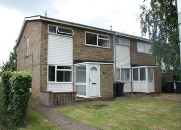 Thumbnail 3 bed end terrace house for sale in Lower Shelton Road, Marston Moretaine, Bedford, Bedfordshire