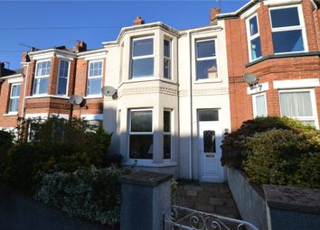 Thumbnail 2 bed terraced house for sale in Ryll Grove, Exmouth, Devon