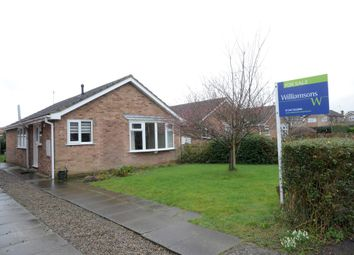 Thumbnail 3 bedroom detached bungalow for sale in Thornton Close, Easingwold, York