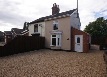 Thumbnail 2 bedroom semi-detached house to rent in Foxes Lowe Road, Holbeach, Spalding